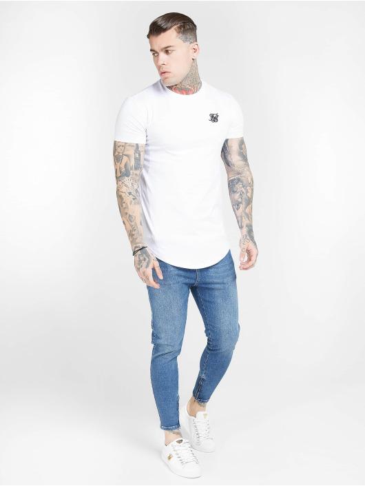 Sik Silk T-Shirt Core Gym white