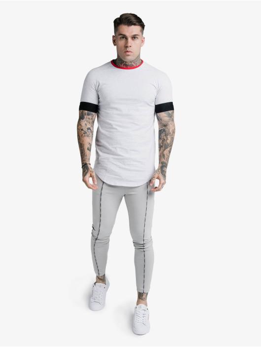 Sik Silk T-Shirt S/S Deluxe Ringer Tech white
