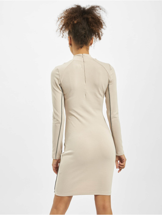 Sixth June Dress Reflective Piping beige