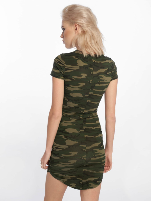 Sixth June Dress Parisiennes camouflage