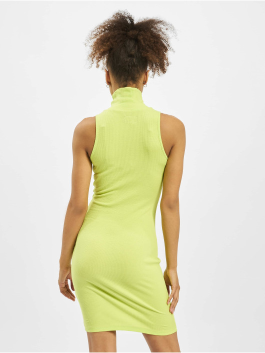 Sixth June Dress Ribbed green