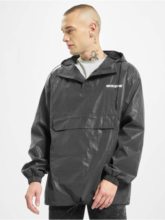 Sixth June Lightweight Jacket Reflective Pull On black