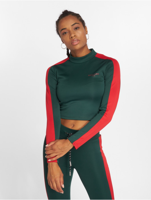 Sixth June Longsleeve Fit Cropped green