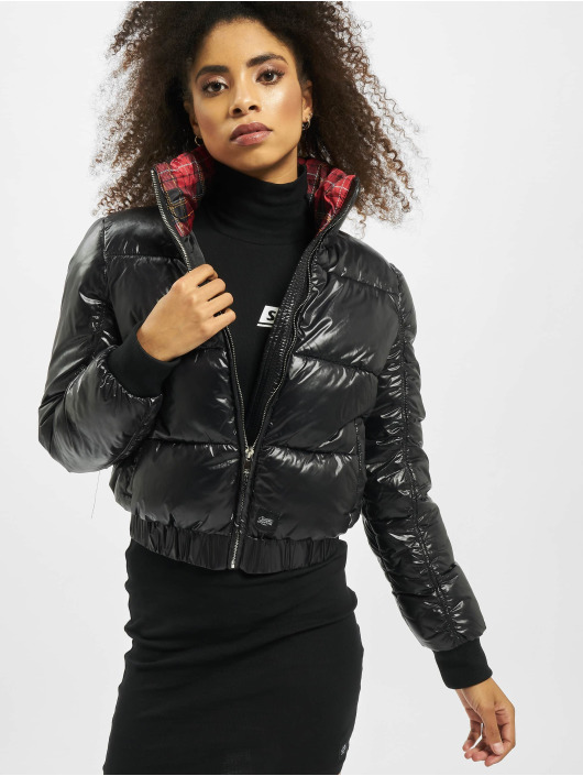 Sixth June Puffer Jacket Vinyl black