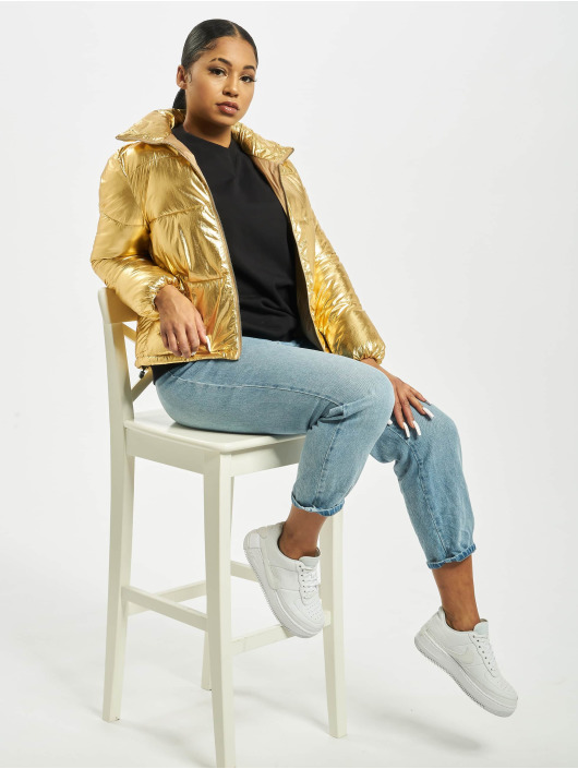 Sixth June Puffer Jacket Printed Down gold