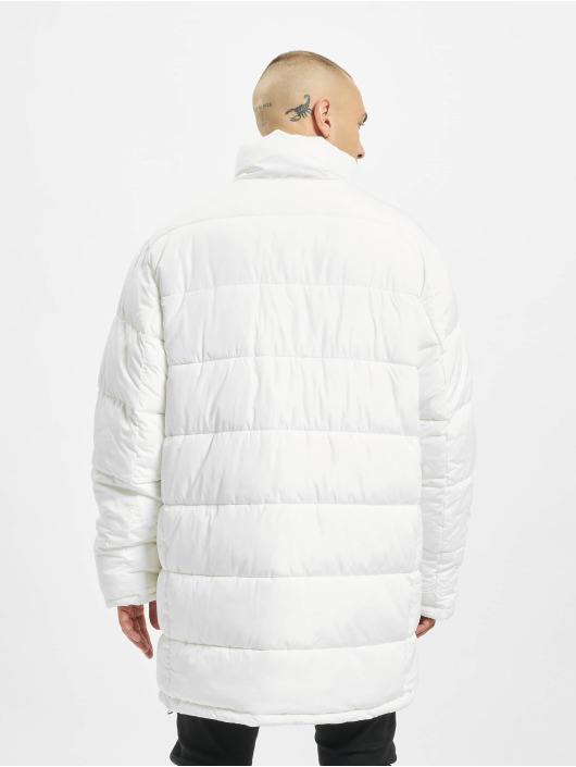 Sixth June Puffer Jacket Long Oversize Down white