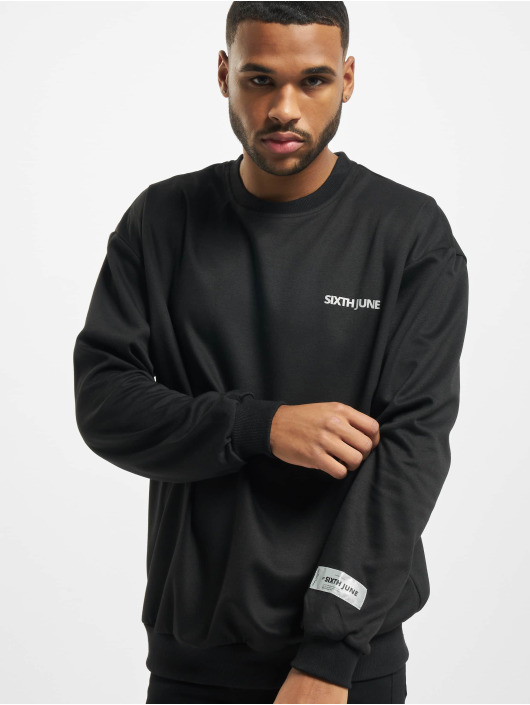 Sixth June Pullover Reflective black