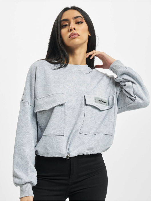 Sixth June Pullover Cargo gray