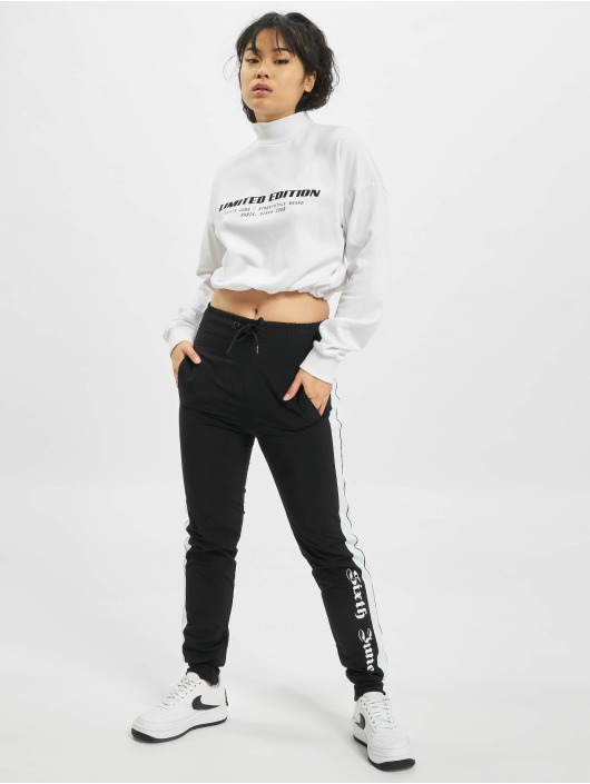 Sixth June Pullover Limited Edition Cropr white