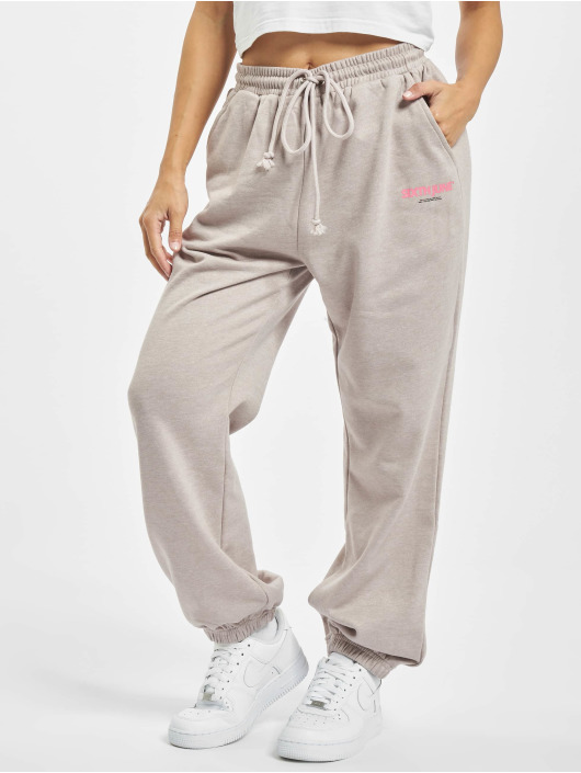 Sixth June Sweat Pant Basic Logo beige