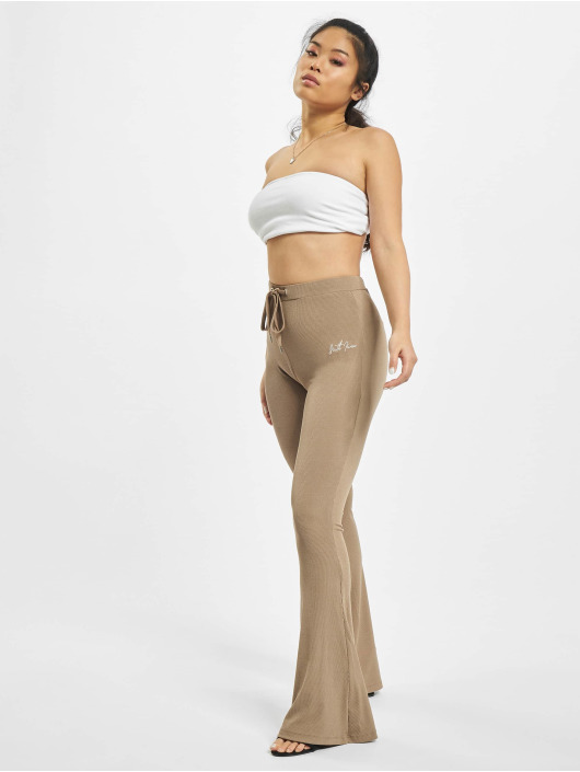 Sixth June Sweat Pant Ribbed khaki