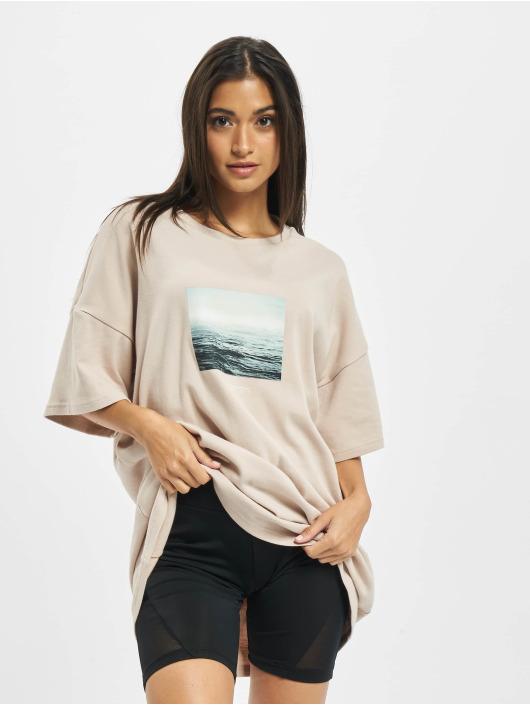 Sixth June T-Shirt Sea beige