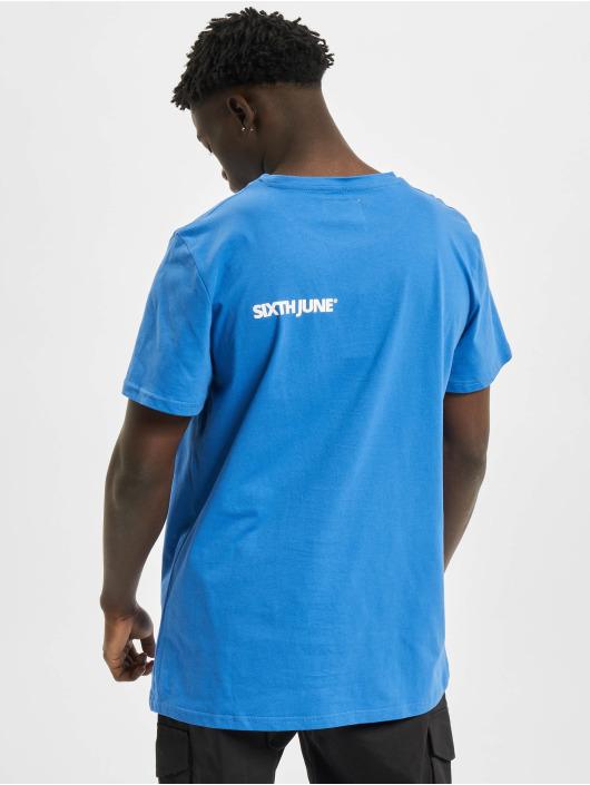 Sixth June T-Shirt Basic Logo blue