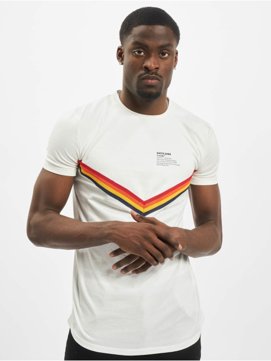 Sixth June T-Shirt XColor Bands white