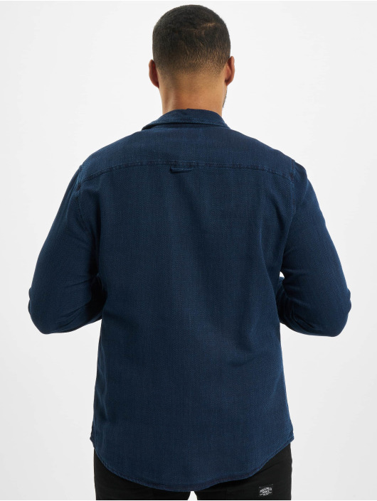 Sky Rebel Shirt Fudo blue