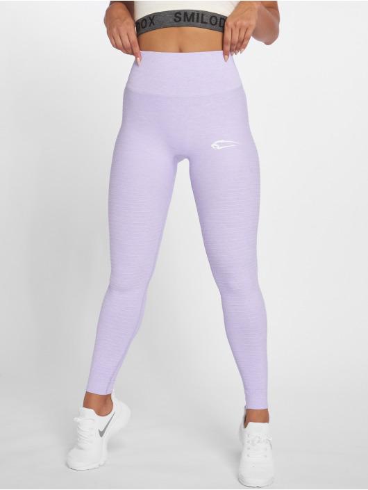 Smilodox Leggings/Treggings Yura High Waist purple