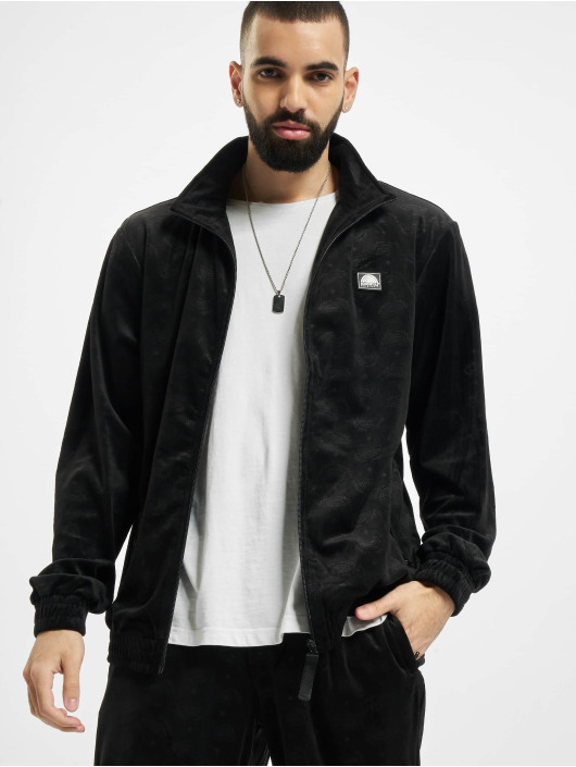 Southpole Lightweight Jacket Aop Velour black