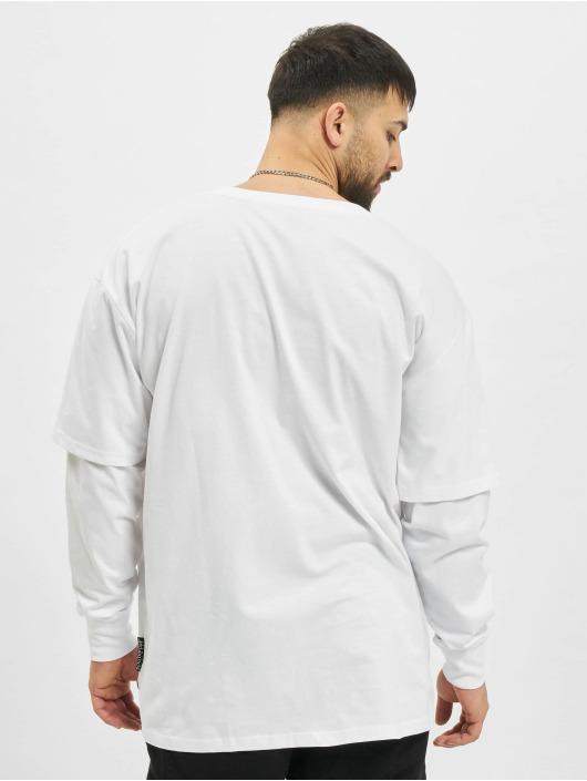 Southpole Longsleeve Basic Double Sleeve white