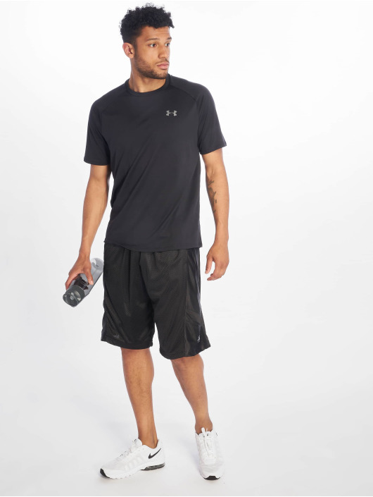 Southpole Short Basketball Mesh black