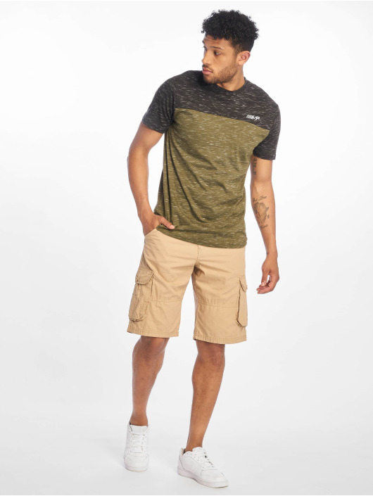 Southpole Short Belted Cargo Ripstop khaki