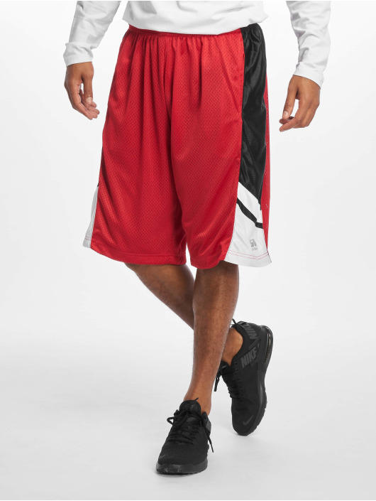 Southpole Short Basketball Mesh red