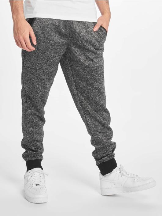 Southpole Sweat Pant Zipper Pocket Marled Tech black