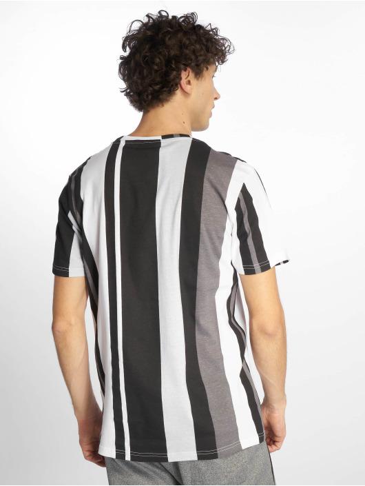 Southpole T-Shirt Vertical Stripe black