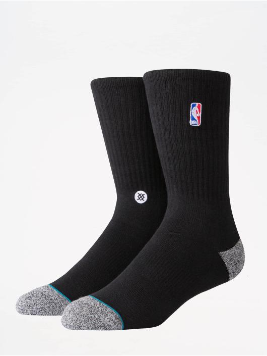 Stance Socks NBA On Court Collection Logoman Crew black