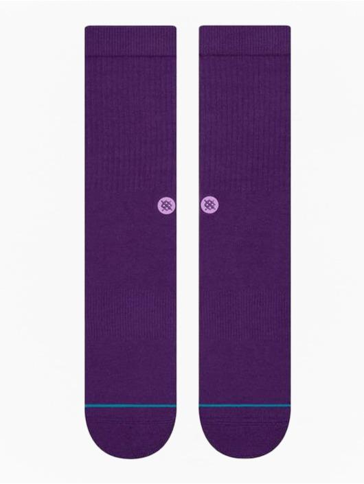 Stance Socks Icon purple