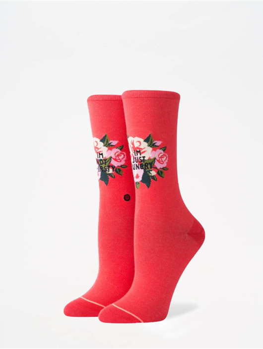 Stance Socks Foundation Not Thirsty red