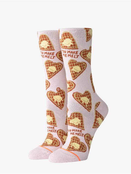Stance Socks You Make Me Melt rose