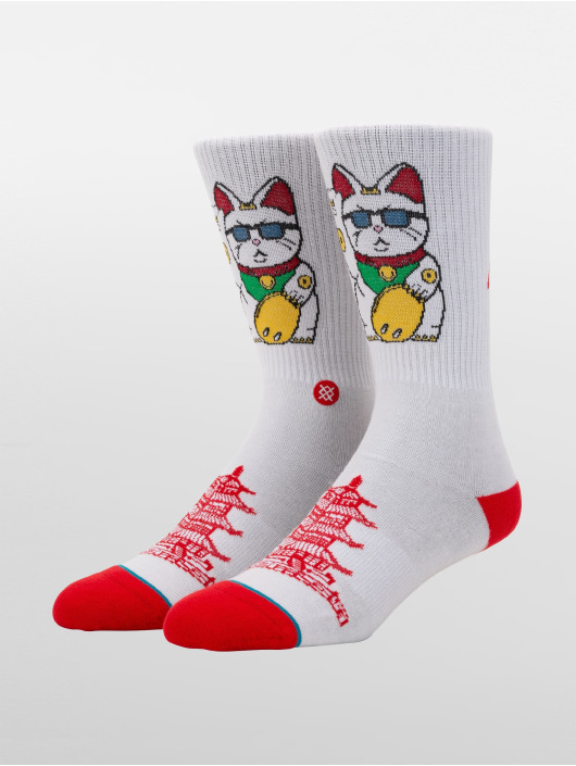 Stance Socks Thank You Enjoy white