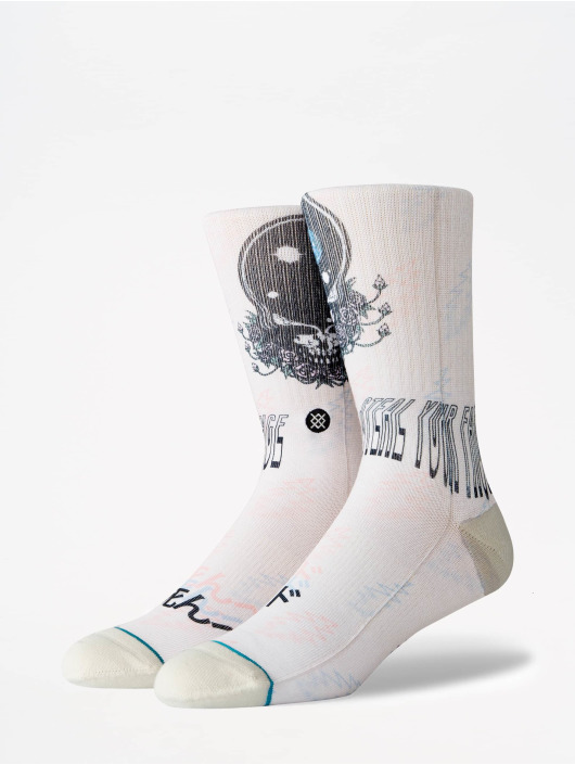 Stance Socks Lifestyle Steal Your Face white