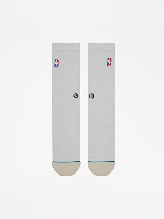 Stance Socks On Court Collection Logoman Crew white