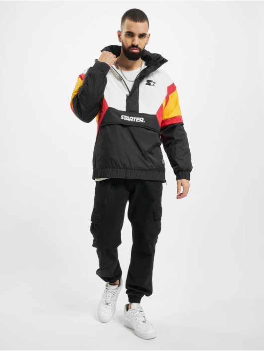 Starter Lightweight Jacket Color Block Half black