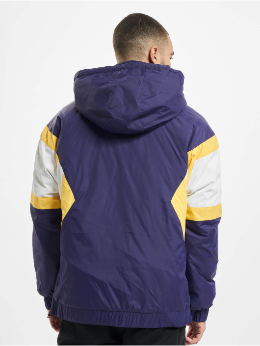 Starter Lightweight Jacket Color Block Half purple