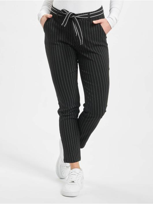 Stitch & Soul Chino pants Pinstripe black