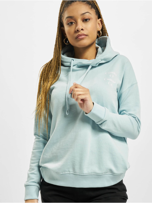 Stitch & Soul Hoodie Letter blue