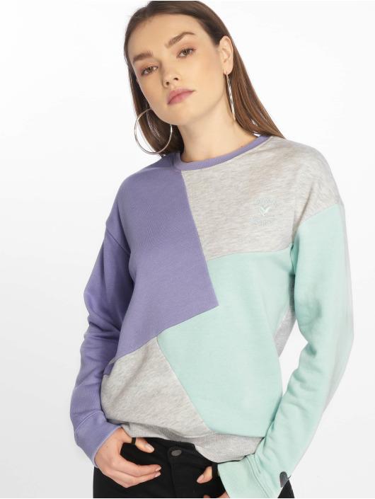 Stitch & Soul Pullover Diagonal purple