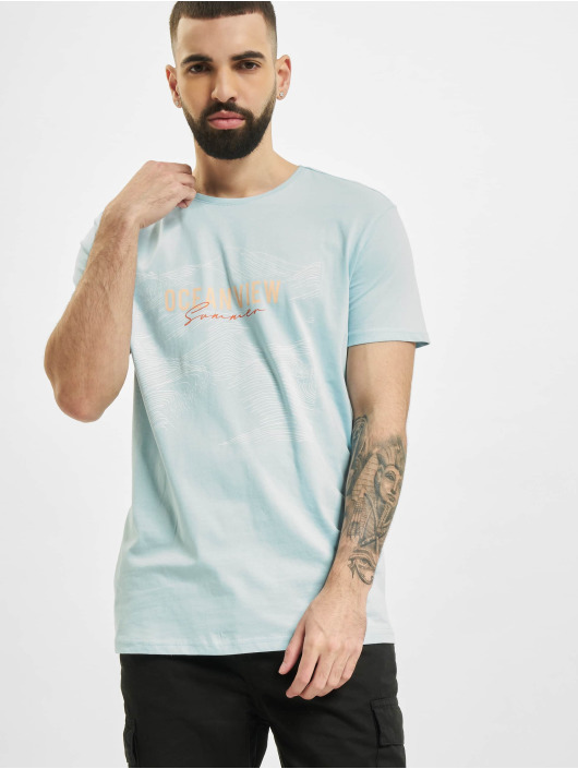 Stitch & Soul T-Shirt Ocean blue