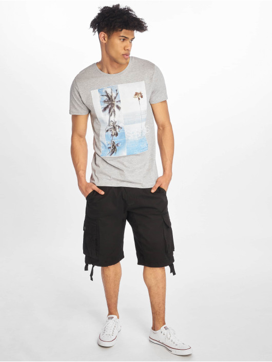 Stitch & Soul T-Shirt Palm Springs gray