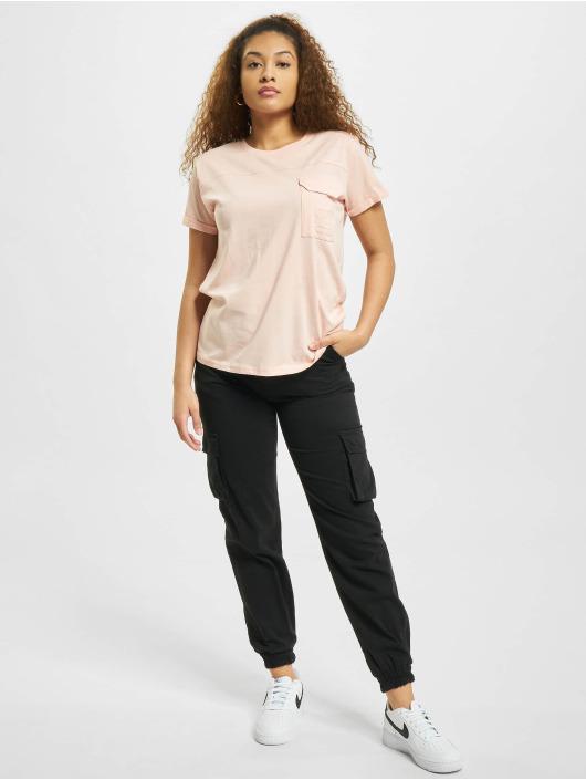 Stitch & Soul T-Shirt Pocket rose