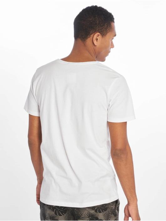 Stitch & Soul T-Shirt Beach Life white