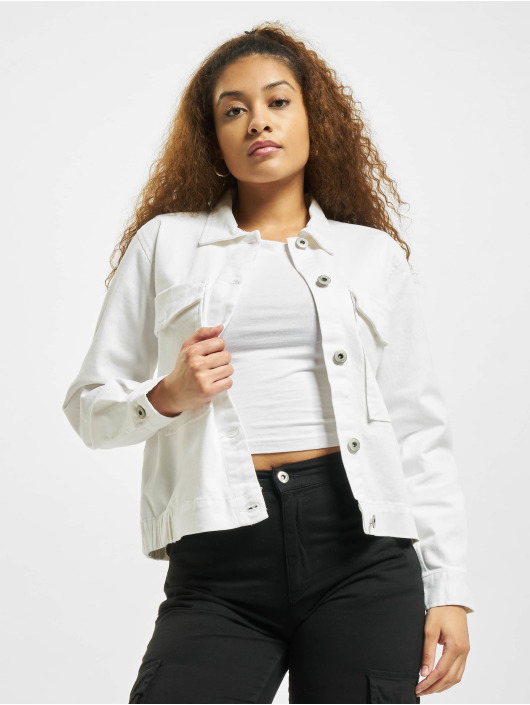 Sublevel Denim Jacket Dilara white