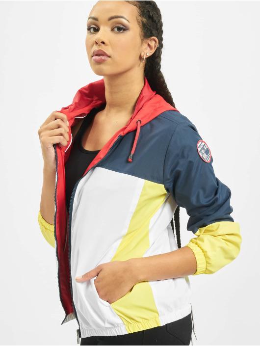 Sublevel Lightweight Jacket Colour Block indigo