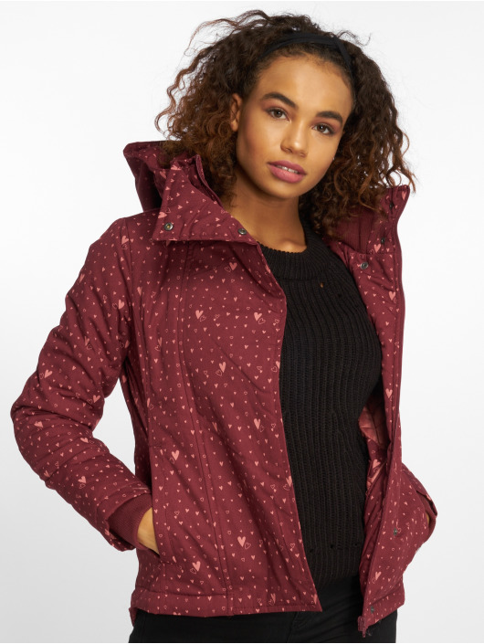 Sublevel Lightweight Jacket Hearts red