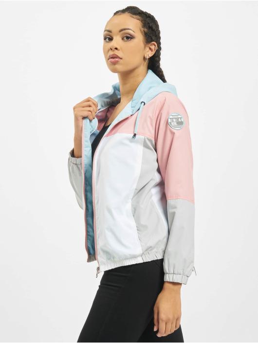 Sublevel Lightweight Jacket Colour Block rose