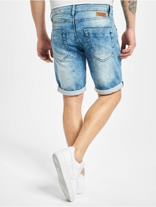 Sublevel Short 5-Pocket Bermuda blue
