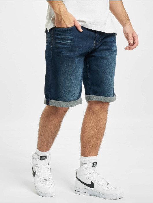 Sublevel Short Haka 5-Pocket Bermuda blue