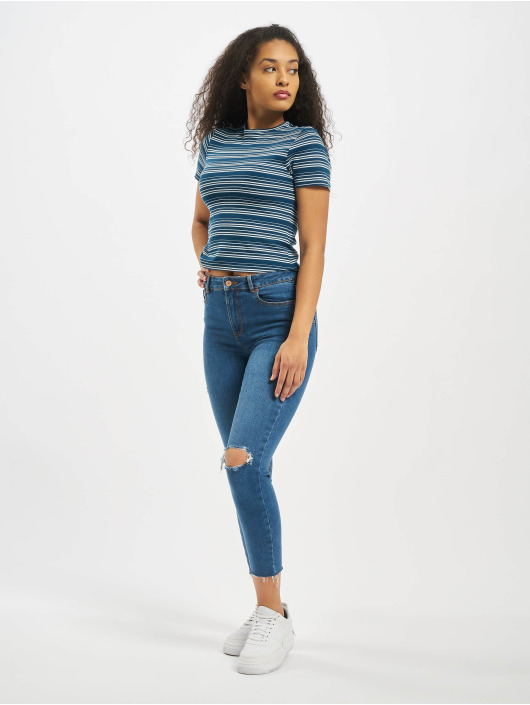 Sublevel T-Shirt Shortsleeves Roundneck blue